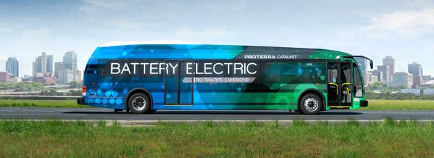 Var tredje ny stadsbuss i USA kommer 2020 att varaa eldriven, tio år senare kommer samtliga att vara det spår vd:n för den amerikanska elbusstillverkren Proterera.