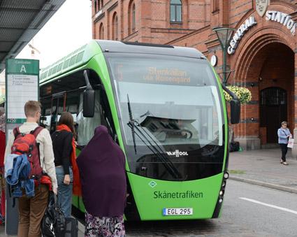 Det är nödvändigt mwed förbättrad samordning vid trafikstörningar, konstaterar forskare vid Malmö Högskola. Foto: Ulo Maasing.