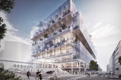 Scandic Platinan i Göteborg öppnar i slutet av 2020. Bild: Scandic Hotels.