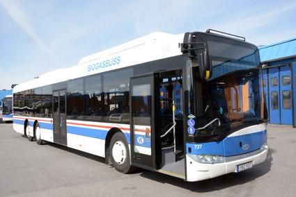 I Sverige sålde Solaris förra året fjorton bussar. Foto: Ulo Maasing.