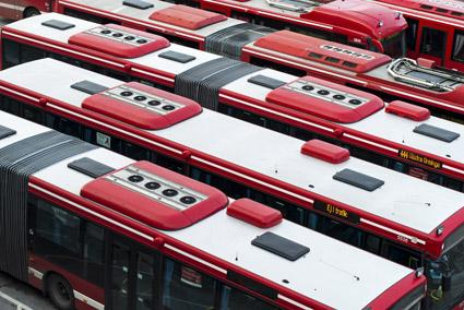 Stockholm får beröm  för ökad kollektivtrafik. Foto: TomTom.