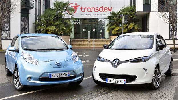 Transdev och Renault-Nissan inleder ett framtidsinriktat samarbete. Foto: Transdev.