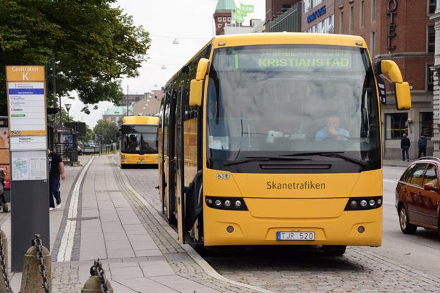 I Skåne behövde man i fjol bara göra 1§6 enkelresor med kollektivtrafiken för att det skulle löna sig med månadskort. Foto: Ulo Maasing.