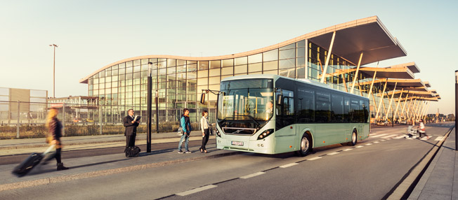 Volvo sålde färre bussar under det fjärde kvartalet 2016 men fler under hela året. Foto: Volvo Bussar.