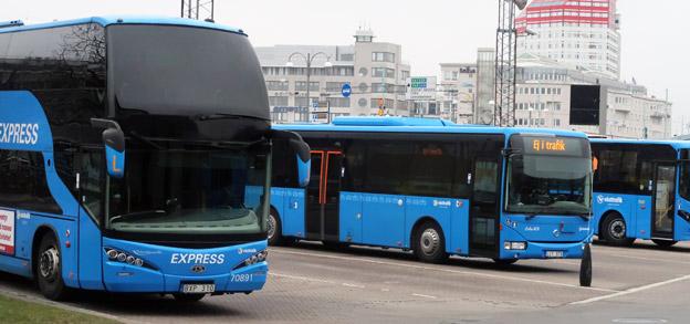 Regeringen presenterade på fredagsmorgonen Bränslebytet, ett förslag till helt nya styrmedel som både både ska reducera transportsektorns utsläpp och över tid kan öka användningen av biodrivmedel kraftigt. Foto: Ulo Maasing.