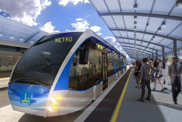 Metro, men med superbussar. Brisbane i Australien skrotar spåvägsplanerna och satsar på eldrivna, dubbelledade superbussar.