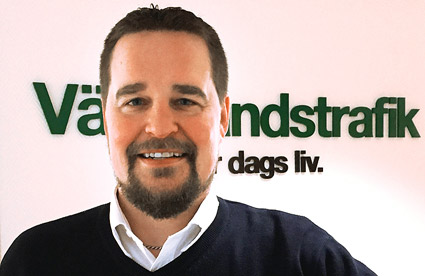 Markus Bergman, ny trafikchef buss hos Värmlandstrafik.