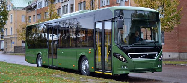 Volvo 8900. Vanlig buss på svenska vägar. Foto: Volvo Bussar.