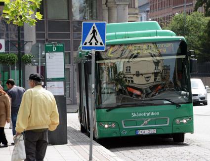 Linje 2 i Malmö ska hösten 2018 börja trafikeras med elbussar. Foto: Ulo MAasing.