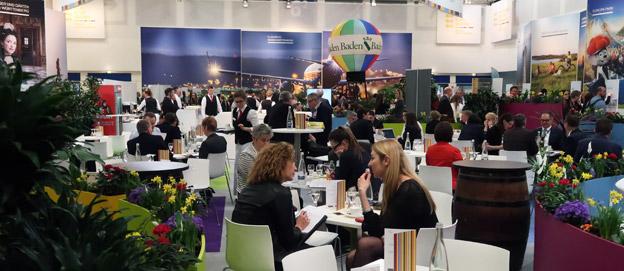 Den stora resmässan ITB i Berlin lockar allt fler internationella fackbesökare. Foto: Ulo Maasing.