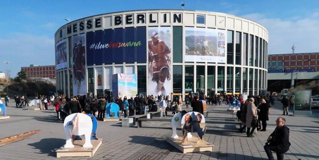 Den gigantiska resmässan ITB i Berlin öppnade på onsdagsförmiddagen. Foto: Ulo Maasing.