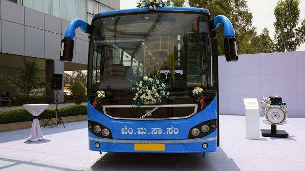 Volvo ska leverera 100 stadsbussar till Bangalore i Indien. Volvois indiska fabrik ligger i staden.