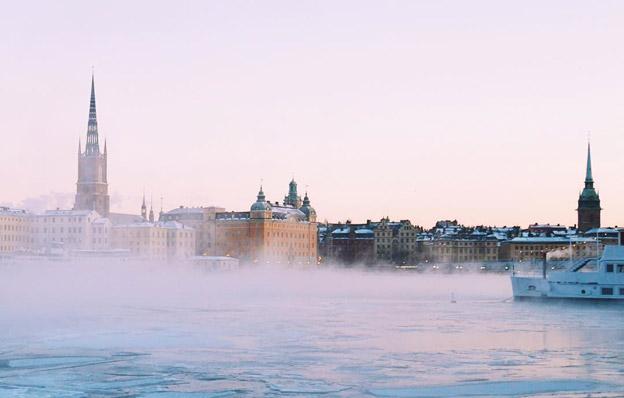 Vinterturismen till Stockholmn ökar kraftigt. Foto: Visit Stockholm.