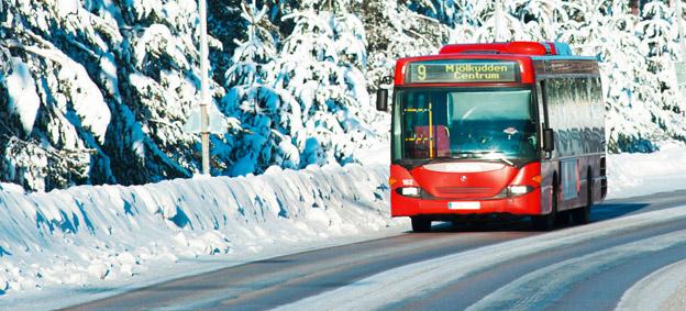 Luleå Lokaltrafik har valt att investera i nya dieselbussar eftersom man anser att biogasbussar blir för dyra in inköp och drift. Foto: Luleå Lokaltrafik.