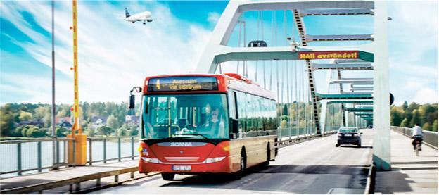 Luleå Lokaltrafik har köpt 15 dieselbussar istället för gasbussar. Nu får man stöd av M;P.Foto:LLT.