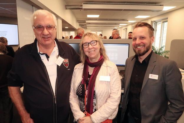 Från CAB Resor i Båstad fanns Anders Nilsson och Christina Johnstael på plats och träffade RK:s Joel Drevik.