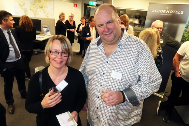 Från OnHoliday fanns Stina Almqvist och PO Svensson på plats.