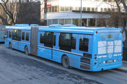 Saltsjöbanan(buss) förlängs till Cityterminalen i Stockholm. Foto: Arriva.