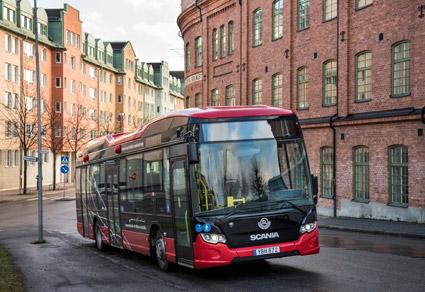 Scanias bussverksamhet präglades i fjol av en ökad orderingång. Foto: Scania.