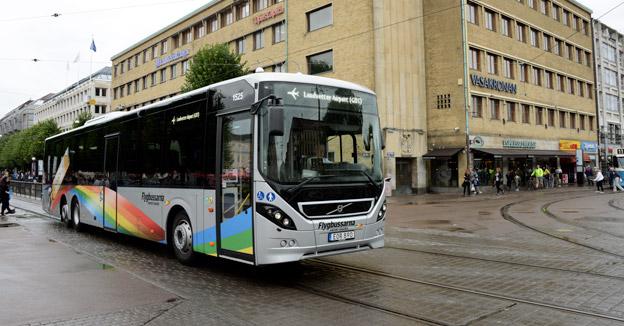 Flygbussrna ingår i Merresor, Transdevs kommersiella trafik, som uippvisar mycket god lönsamhet. Foto: Ulo Maasing.