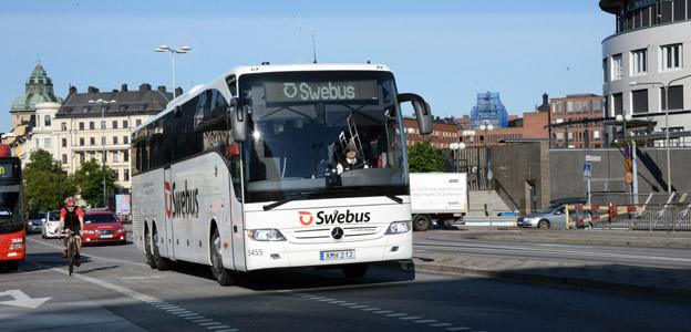 Swebus utökar trafiken till Arlanda och Landvetter kraftigt. Foto: Ulo Maasing.