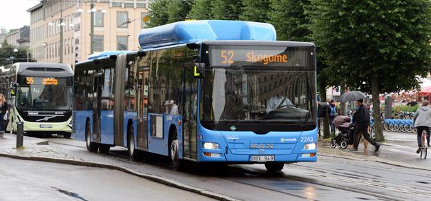 Snart kommer busspassagerare i Västra Götaland att mötas av en ny röst ombord. Foto: Ulo Maasing.