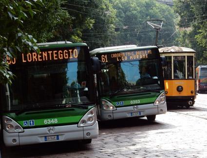 Den italienska bussmarknaden har vuxit kraftigt hittills i år. Foto: Ulo Maasing.