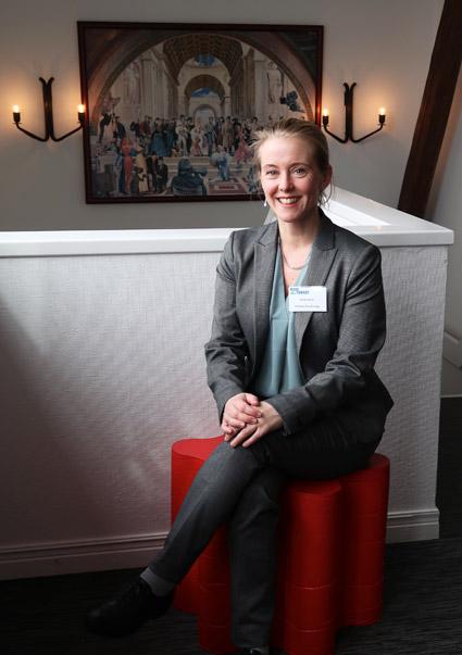 Annika Nordin, ny förhandlingschef hos Sveriges Bussföretag. Foto: Paula Isaksson.