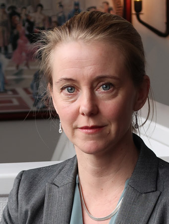 Annika Nordin, förhandlingschef på Sveriges Bussföretag. Foto: Paula Isaksson.