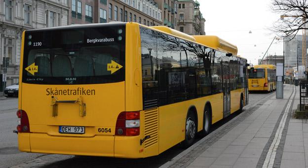 Region Skåne har gjort en revision av Bergkvarabuss´ verksamhet för Skånetrafiken. Ett antal brister har konstaterats, men inte när det gäller bussarnas säkerhet. Foto: Ulo Maasing.