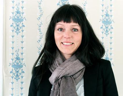 Ingrid Nilsson är industridesigner med inriktning mot bussar. Foto: Paula Isaksson.