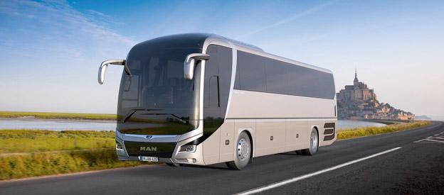 Nya MAN Lion´s Coach får premiär på Busworld i Kortrijk. Bild: MAN.
