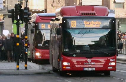 21 procent fler fick böta för biljettfusk i SL-trafiken i fjol. Foto: Ulo Maasing.