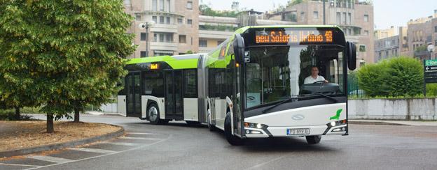 Solaris har fått en order på 40 18-meters ledbussar till Holland. Det är första Solarisordern någonsin i landet. Foto: Solaris.