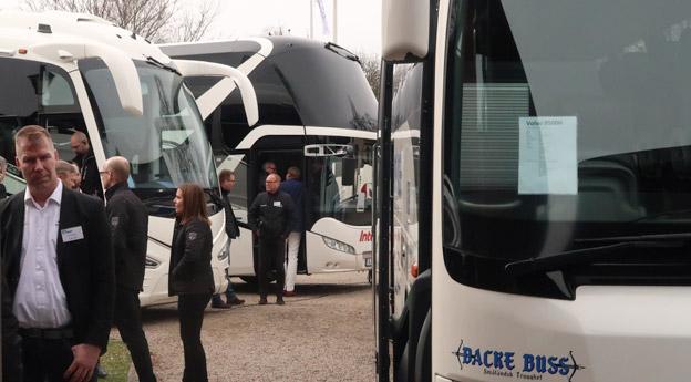 Drygt 200 deltagare fanns på plats på Busstorget på Hooks Heerrgård.