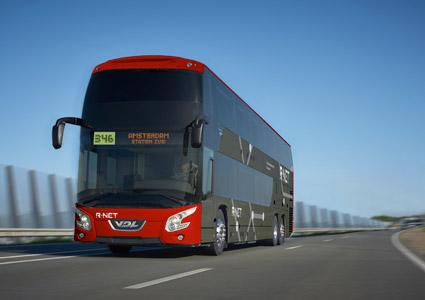 I order ingår även  18 dubbeldäckare för trafik på tunga linjer i södra Amsterdam. Foto: VDL.