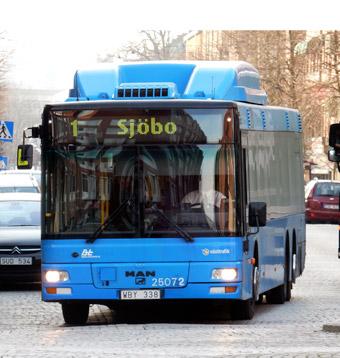 Kommunala Borås Lokaltrafik hade ett ekonomiskt bra år det sista hela året som man körde trafik. Foto: Ulo MAasing.
