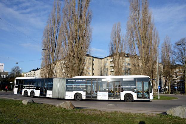 Mercedes-Benz CapaCity L visas nu för första gången i Sverige. Foto: Ulo Maasing.
