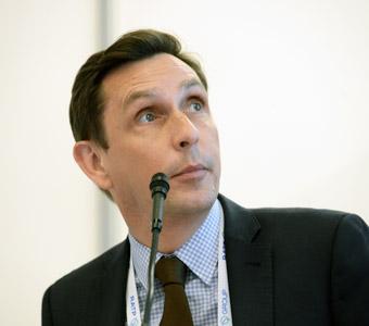 Nicolas Pocard från Ballard Power Systems, ett företag som arbetar med bränslecellteknik. Foto: Ulo Maasing.