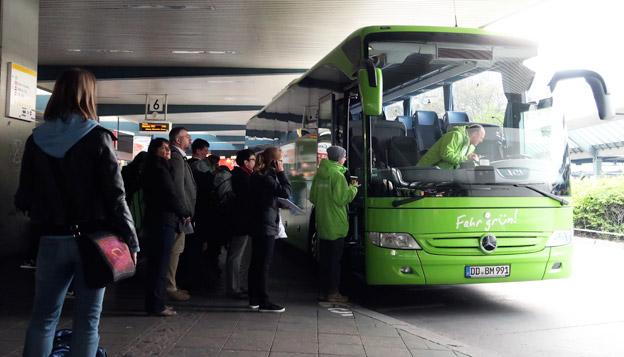 Den tyska expressbussjätten Flixbus har nu nästan 92 procent av  den tyska marknaden för expressbussar. Foto: Ulo Maasing.
