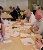 Drygt 20 personer deltog på workshopen i Göteborg.