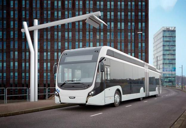 Heliox har fått en rekordorder på laddinfrastruktur till elbussar. Bild: Heliox.