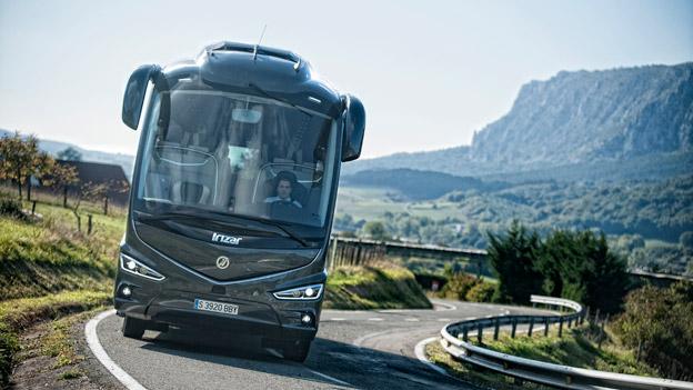 Den spanska bussmarknaden hade en spektakulär tillväxt under april. Foto: Irizar.