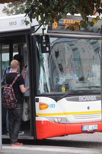 Stadsbussarna i Jönköping får en ny depå från 2021. Foto: Ulo Maasing.