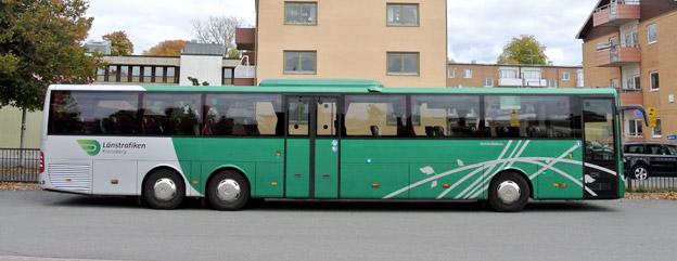 Samtliga regionbussar hos Länstrafiken Kronoberg ska utrustas med trådlöst internet. Foto: Ulo Maasing.
