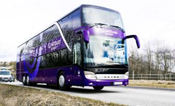 Nettbuss Travel uppgraderar mellan Ludvika och Stockholm. Bild: Nettbuss.