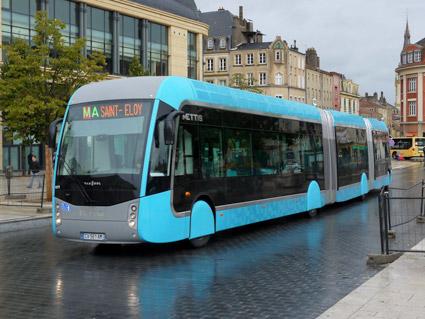 2013 startade BRT-systemet Mettis i franska Metz. Det har blivit ett lyft för staden. Foto: Agora/Wikimedia Commons.