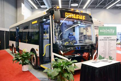 Kanadensiska midibusstillverkaren Vicinity. Foto: Ulo Maasing.