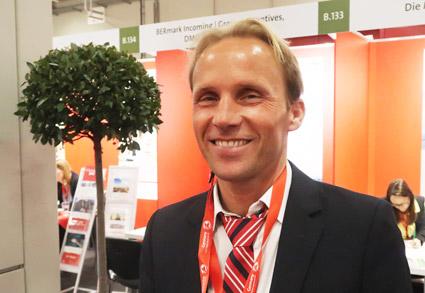 Petr Olseni från Jörns resor tillhör stammisarna på GTM. Foto: Ulo Maasing.