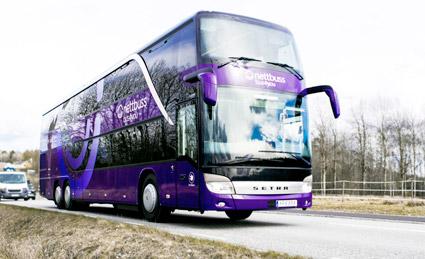 Toppar kvalitetsindex. Foto: Nettbuss.
